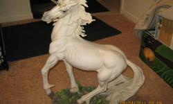 PRICE NEGOTIABLE- MUST SEE EXCELLENT CONDITION! From the DeCapoli Collection -- Outstanding detail on this Fantastic Unicorn! So lifelike that you'll truly believe in this fabled creature of Myths. The detail is outstanding - just look at his mane and the