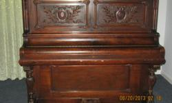 Antique upright Piano. Good to learn on. Must go! Hurry! --