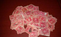 I was cleaning out my grandfathers things and I came accross a box of United States stamps, with a few from other countries. There are about 1700 stamps. They are not organized, they are in books and envelopes. They all look used. There might be a