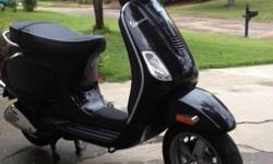 2008 Vespa LX150 Like new Only 60 miles One owner Runs strong Garage kept 2 Small dents Black I can be reached @ --  6:30 AM---7:00 PM Mon-Sat Please no text. or thru this site. I DO NOT NEED HELP SELLING THIS