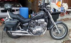 93 virago 750. 22,400 miles. Well maintained. Vance & hines pipes. New handle bars. New rear tire. New front brakes. New saddle bags. Ready to ride. I have had this bike for 13 years. Im just looking to sell it for money for my project car. 716 801 2946