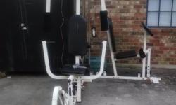 Weights included. Good/FAIR CONDITION.