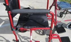 Like new wheel chair light weight $50 call 727-535-5522