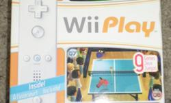 this wii play is brand new retail price is 39.99