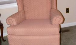 2 wing chairs in excellent condition, originally purchased from Oskar Huber. Cash n Carry only