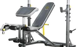 INDEPENDENT UTILITY BENCH AND UPRIGHTS, 6-ROLL LEG DEVELOPER, WEIGHT LIFTING BENCH, SQUAT STATION, PREACHER PAD. GOOD CONDITION