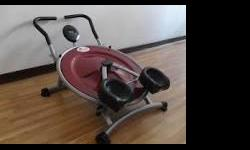 Abs pro circle workout machine almost new... I hurt my back at work so I never used it...