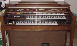 Working Yamaha Electone Organ Specifications - First Manufactured: 1977 Technology: Analog Height Width Depth Weight 104.00 119.00 76.00 cm 116.00 kg 40.94 46.85 29.92 inches 255.73 pounds Amplification: 120 watts Number of Voices: Unknown Features - 13