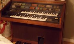 Beautifull condition and sounds great, a nice addition to your furniture. This organwas bought for $10.000 when new.