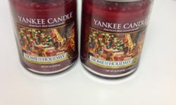 The candles are made from pure paraffin wax around pure cotton wicks. The glass jar and lid are created in Yankee Candle's traditional signature design, reflecting warmth and a relaxed sense of style. Safe for use outdoors and indoors; great gift for
